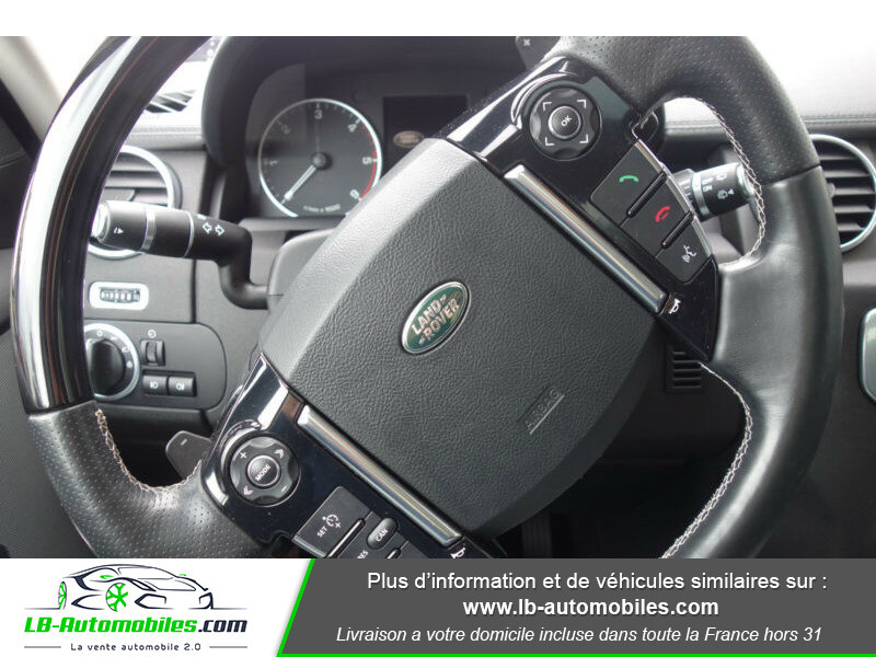 Land rover Discovery SDV6 3.0L 256 ch Blanc occasion à Beaupuy - photo n°7
