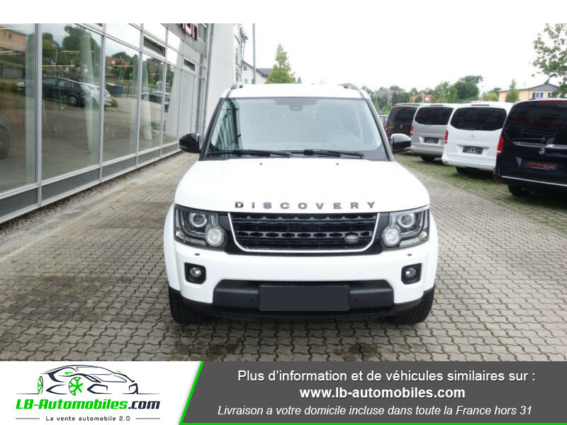 Land rover Discovery SDV6 3.0L 256 ch Blanc occasion à Beaupuy - photo n°9