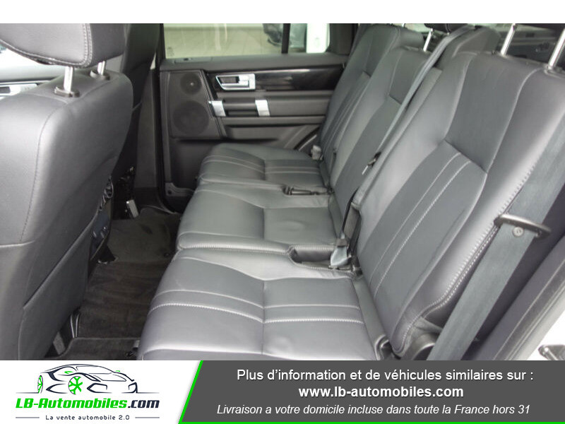 Land rover Discovery SDV6 3.0L 256 ch Blanc occasion à Beaupuy - photo n°4