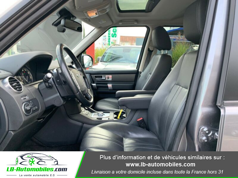 Land rover Discovery SDV6 3.0L 256 ch Gris occasion à Beaupuy - photo n°17