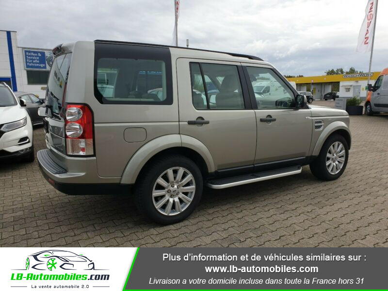 Land rover Discovery SDV6 3.0L 256 ch Gris occasion à Beaupuy - photo n°9