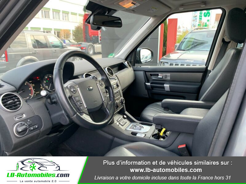 Land rover Discovery SDV6 3.0L 256 ch Gris occasion à Beaupuy - photo n°16