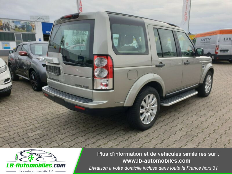 Land rover Discovery SDV6 3.0L 256 ch Gris occasion à Beaupuy - photo n°3