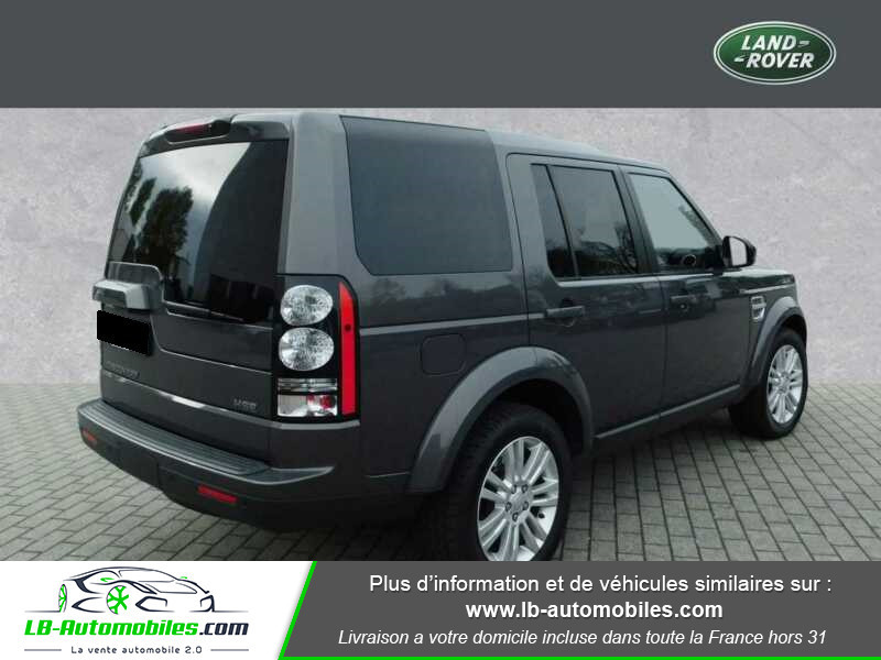 Land rover Discovery SDV6 3.0L 256 ch Gris occasion à Beaupuy - photo n°2