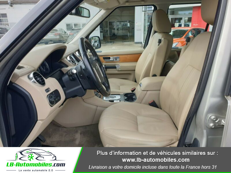 Land rover Discovery SDV6 3.0L 256 ch Gris occasion à Beaupuy - photo n°4