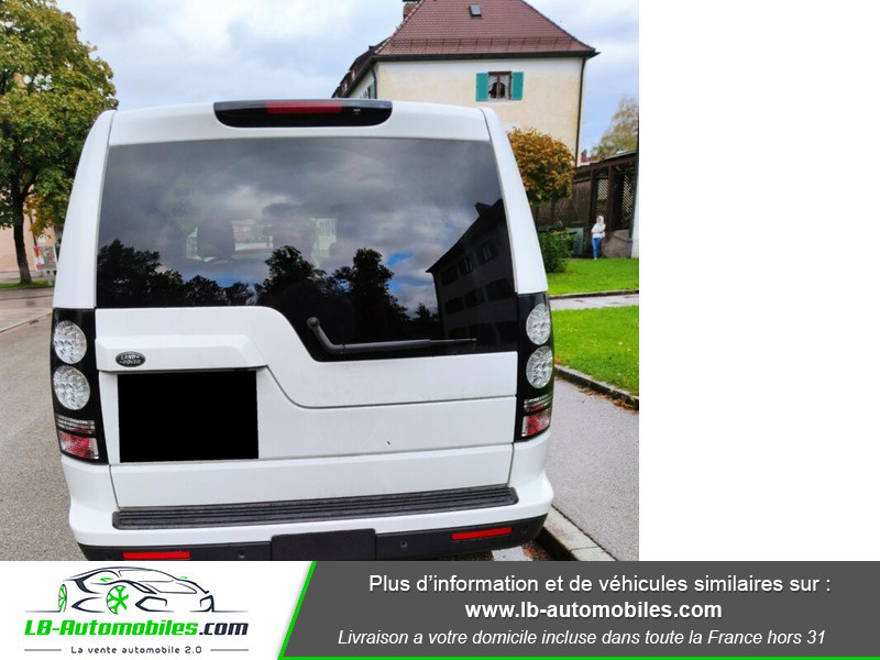 Land rover Discovery SDV6 HSE 3.0L 256 ch / 7 places Blanc occasion à Beaupuy - photo n°6