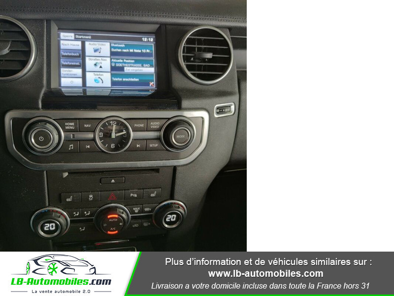 Land rover Discovery SDV6 HSE 3.0L 256 ch / 7 places Blanc occasion à Beaupuy - photo n°2