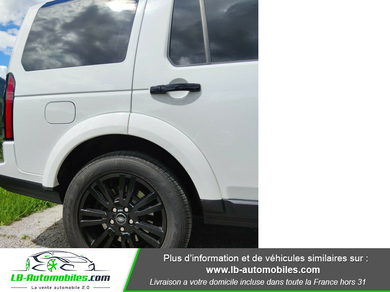 Land rover Discovery SDV6 HSE 3.0L 256 ch / 7 places Blanc occasion à Beaupuy - photo n°7