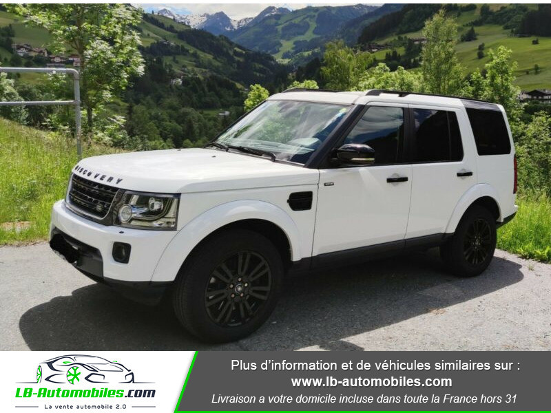 Land rover Discovery SDV6 HSE 3.0L 256 ch / 7 places Blanc occasion à Beaupuy