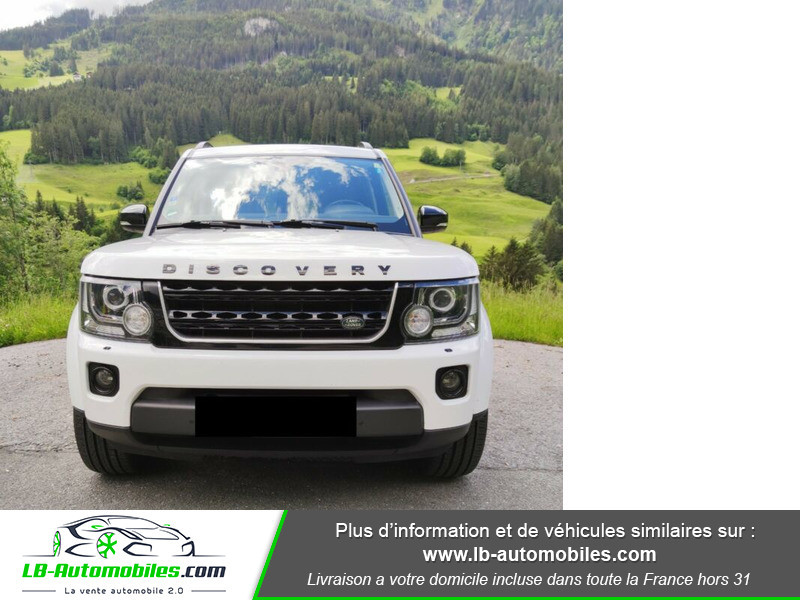 Land rover Discovery SDV6 HSE 3.0L 256 ch / 7 places Blanc occasion à Beaupuy - photo n°5