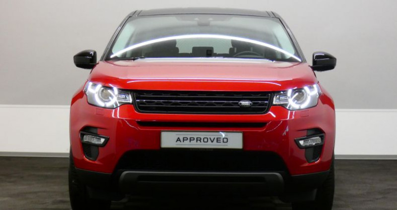 Land rover Discovery SE 2.0 TD4 150 4WD Auto Rouge occasion à Luxembourg - photo n°2