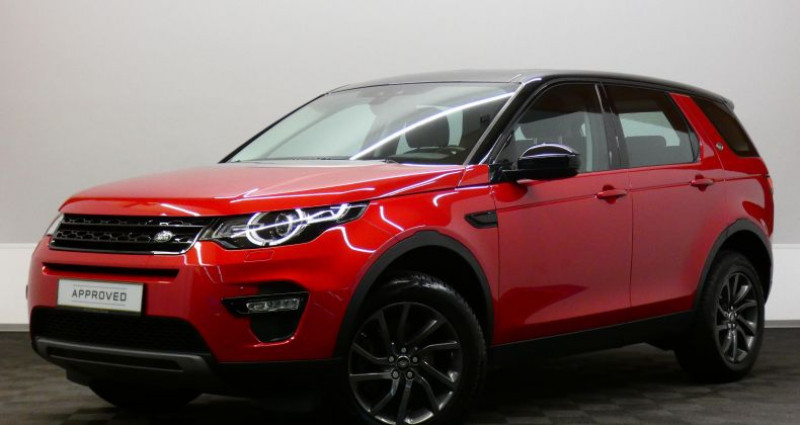 Land rover Discovery SE 2.0 TD4 150 4WD Auto Rouge occasion à Luxembourg