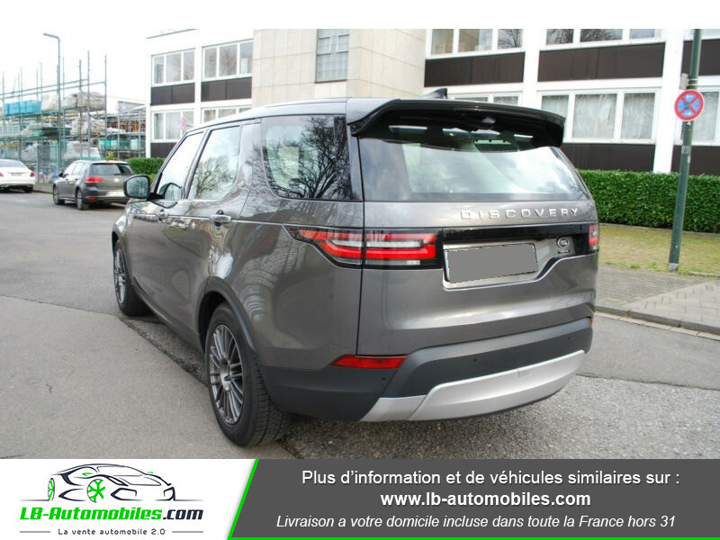 Land rover Discovery Si6 V6 3.0 340 ch BVA8 Gris occasion à Beaupuy - photo n°3