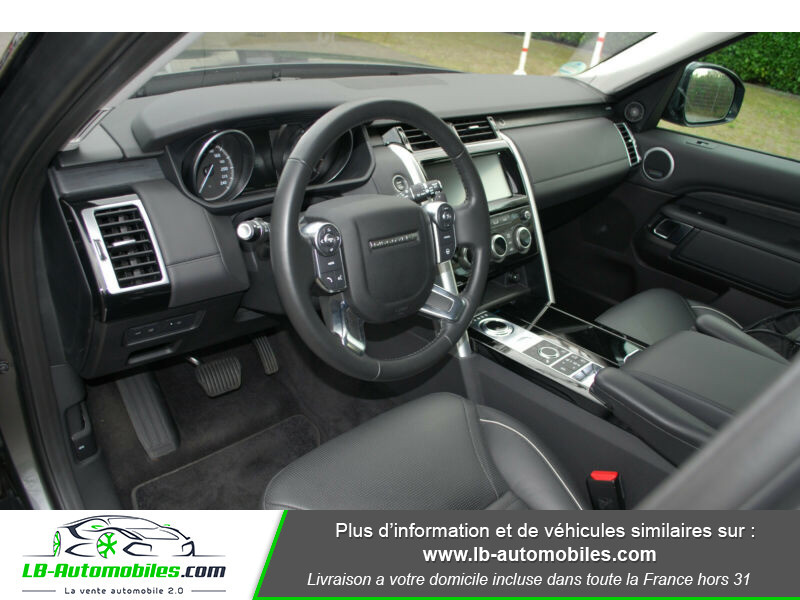 Land rover Discovery Si6 V6 3.0 340 ch BVA8 Gris occasion à Beaupuy - photo n°4