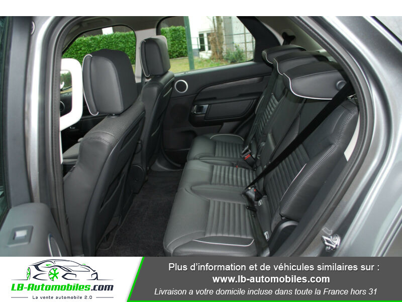 Land rover Discovery Si6 V6 3.0 340 ch BVA8 Gris occasion à Beaupuy - photo n°5