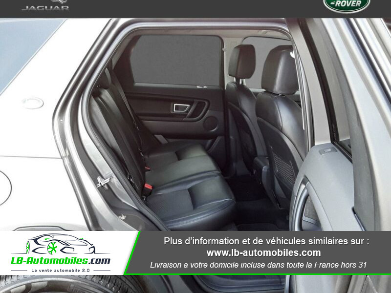 Land rover Discovery TD4 150ch Gris occasion à Beaupuy - photo n°5
