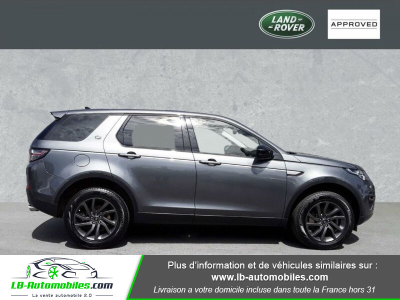 Land rover Discovery TD4 150ch Gris occasion à Beaupuy - photo n°8