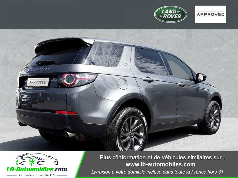 Land rover Discovery TD4 150ch Gris occasion à Beaupuy - photo n°3