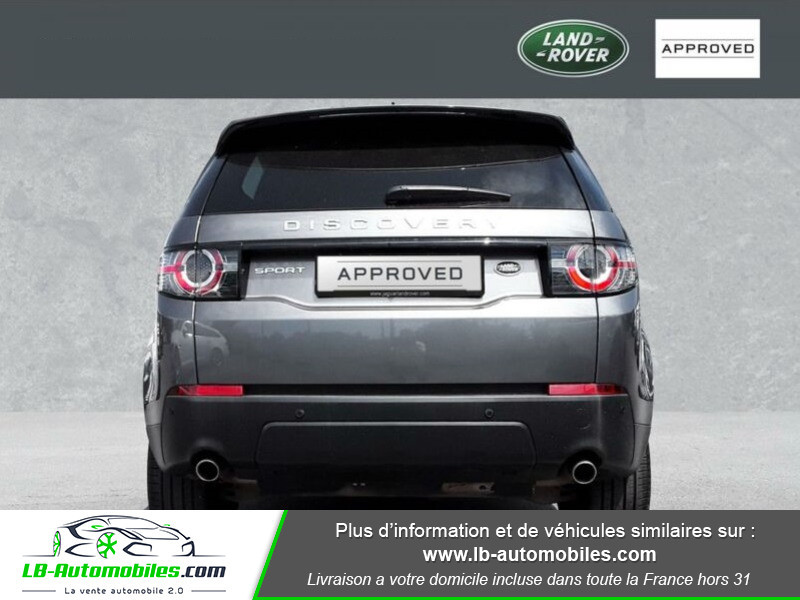Land rover Discovery TD4 150ch Gris occasion à Beaupuy - photo n°9