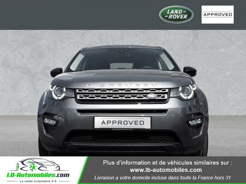 Land rover Discovery TD4 150ch Gris occasion à Beaupuy - photo n°7