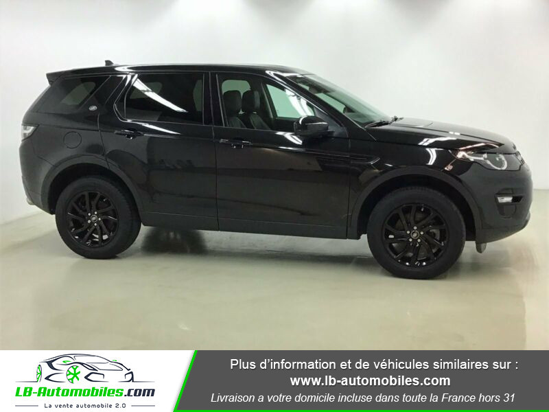Land rover Discovery Td4 2.0 180 ch Noir occasion à Beaupuy - photo n°6