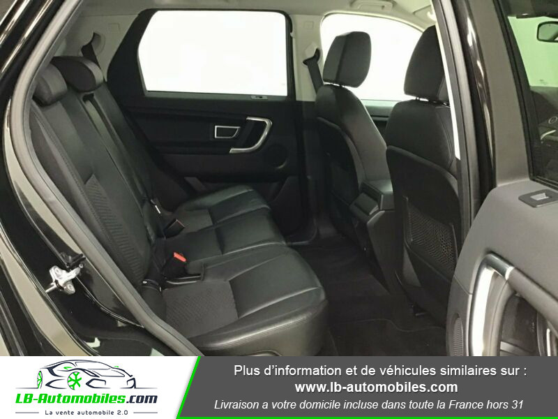 Land rover Discovery Td4 2.0 180 ch Noir occasion à Beaupuy - photo n°5