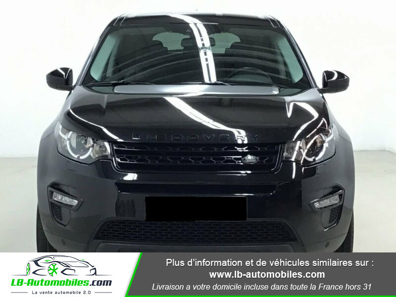 Land rover Discovery Td4 2.0 180 ch Noir occasion à Beaupuy - photo n°7