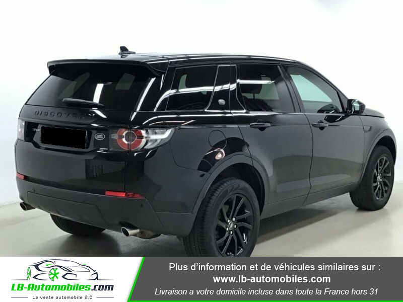 Land rover Discovery Td4 2.0 180 ch Noir occasion à Beaupuy - photo n°3