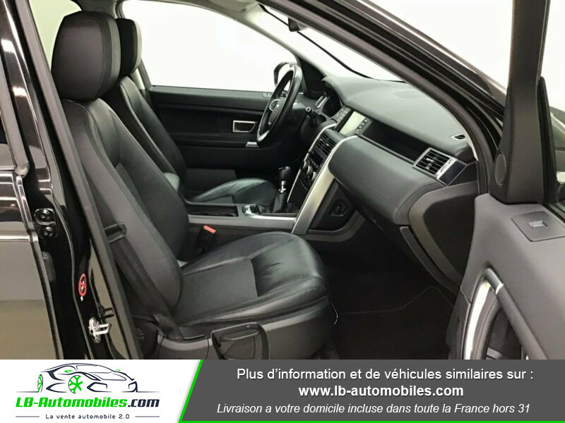 Land rover Discovery Td4 2.0 180 ch Noir occasion à Beaupuy - photo n°4