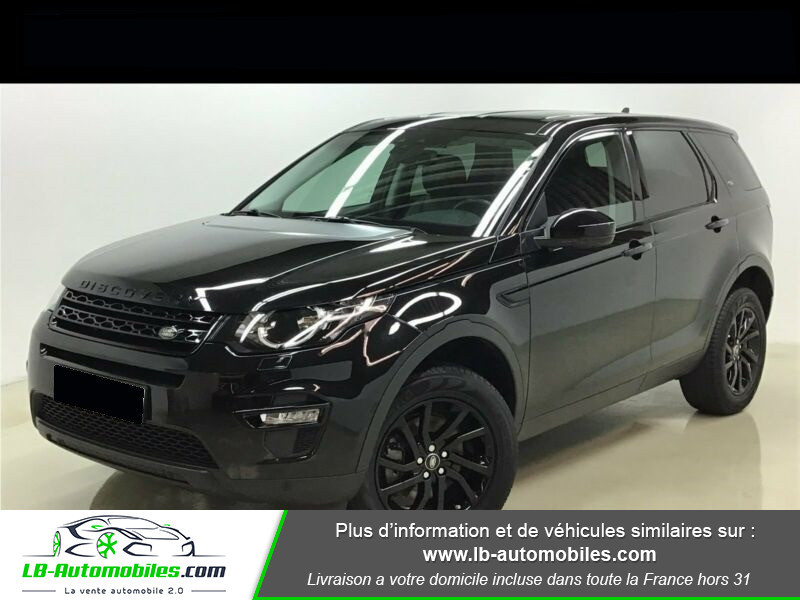 Land rover Discovery Td4 2.0 180 ch Noir occasion à Beaupuy