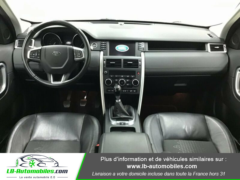 Land rover Discovery Td4 2.0 180 ch Noir occasion à Beaupuy - photo n°2