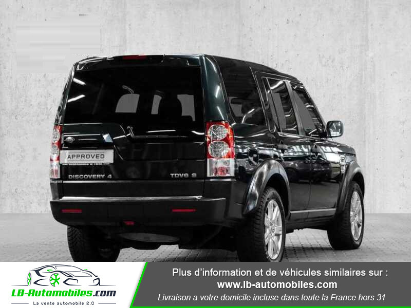 Land rover Discovery TDV6 3.0L 211 CH Vert occasion à Beaupuy - photo n°3