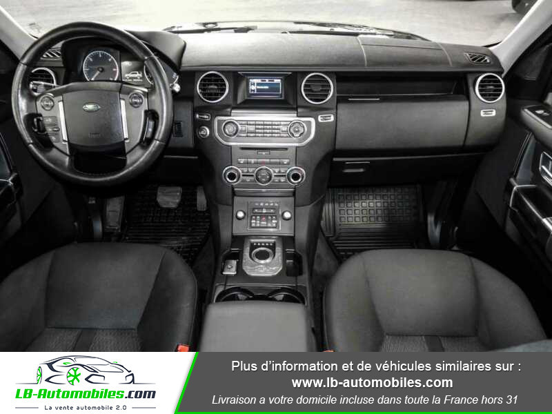 Land rover Discovery TDV6 3.0L 211 CH Vert occasion à Beaupuy - photo n°2