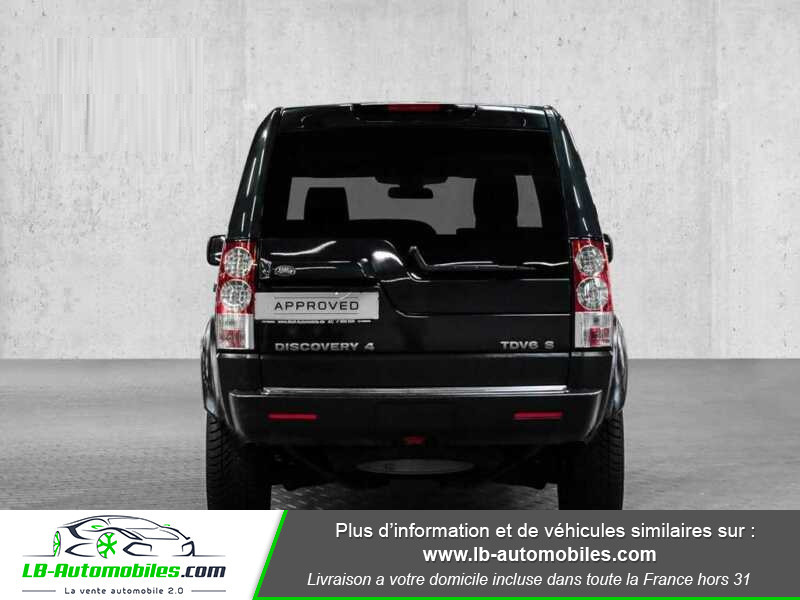 Land rover Discovery TDV6 3.0L 211 CH Vert occasion à Beaupuy - photo n°12