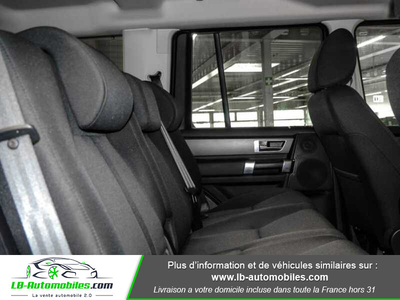 Land rover Discovery TDV6 3.0L 211 CH Vert occasion à Beaupuy - photo n°5