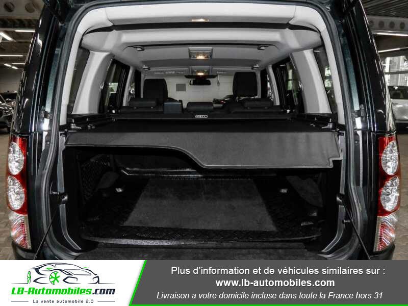 Land rover Discovery TDV6 3.0L 211 CH Vert occasion à Beaupuy - photo n°13