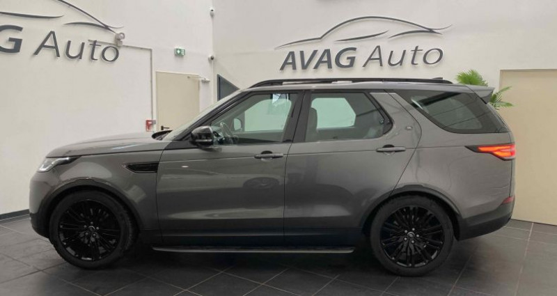 Land rover Discovery V 3.0 TD6 V6 4WD 258 cv HSE Gris occasion à Lagord - photo n°4