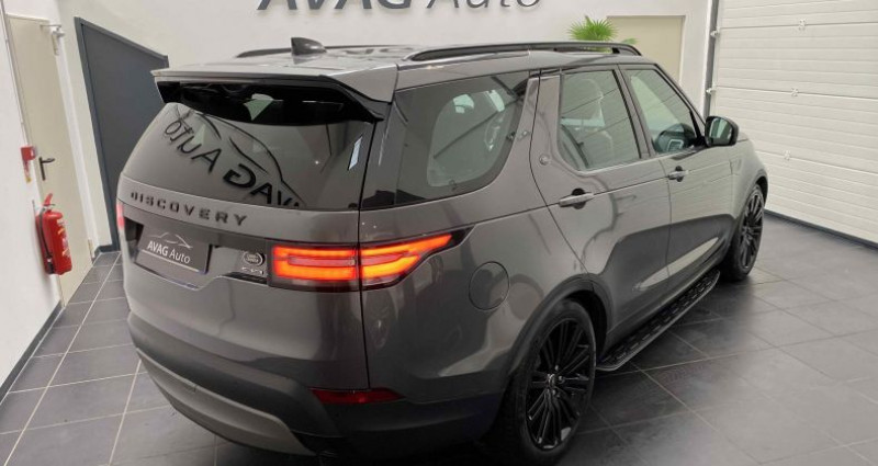 Land rover Discovery V 3.0 TD6 V6 4WD 258 cv HSE Gris occasion à Lagord - photo n°5