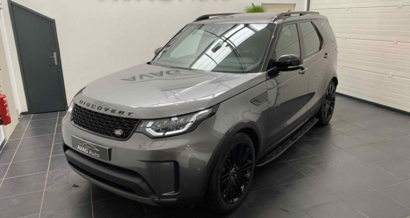 Land rover Discovery V 3.0 TD6 V6 4WD 258 cv HSE Gris occasion à Lagord - photo n°2