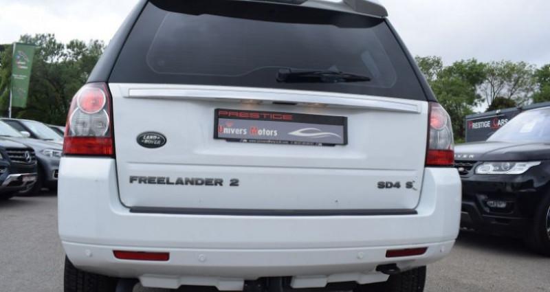 Land rover Freelander SD4 S BVA Blanc occasion à VENDARGUES - photo n°4