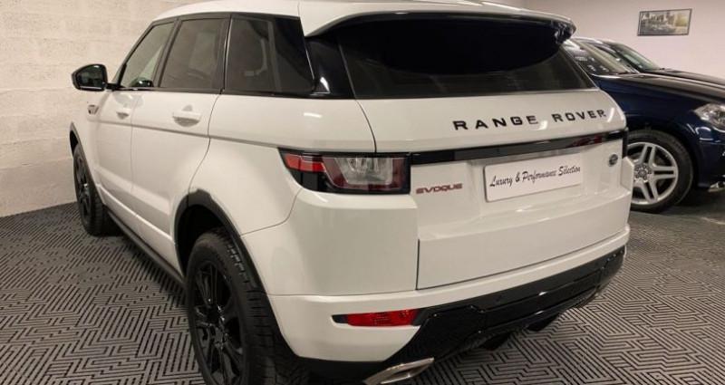 Land rover Range Rover Evoque 180ch SE DYNAMIC PACK BLACK 68000km ETAT NEUF Blanc occasion à Villeneuve Loubet - photo n°4
