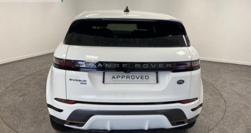 Land rover Range Rover Evoque 2.0 D 150ch R-Dynamic AWD BVA Blanc occasion à Nogent-le-phaye - photo n°5