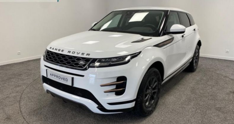 Land rover Range Rover Evoque 2.0 D 150ch R-Dynamic AWD BVA Blanc occasion à Nogent-le-phaye