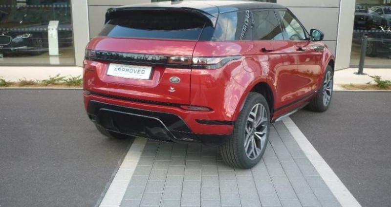 Land rover Range Rover Evoque 2.0 D 180ch R-Dynamic HSE AWD BVA Rouge occasion à Laxou - photo n°2