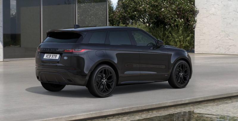 Land rover Range Rover Evoque 2.0 D 180ch R-Dynamic S AWD BVA Noir occasion à SAINT ETIENNE - photo n°3