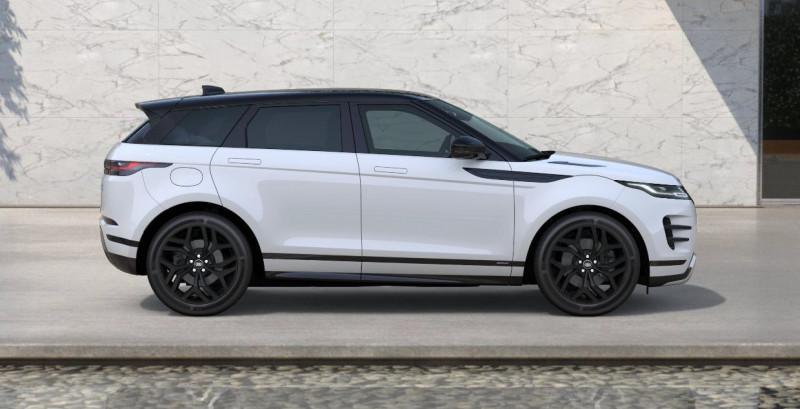 Land rover Range Rover Evoque 2.0 D 180ch R-Dynamic SE AWD BVA Blanc occasion à SAINT ETIENNE