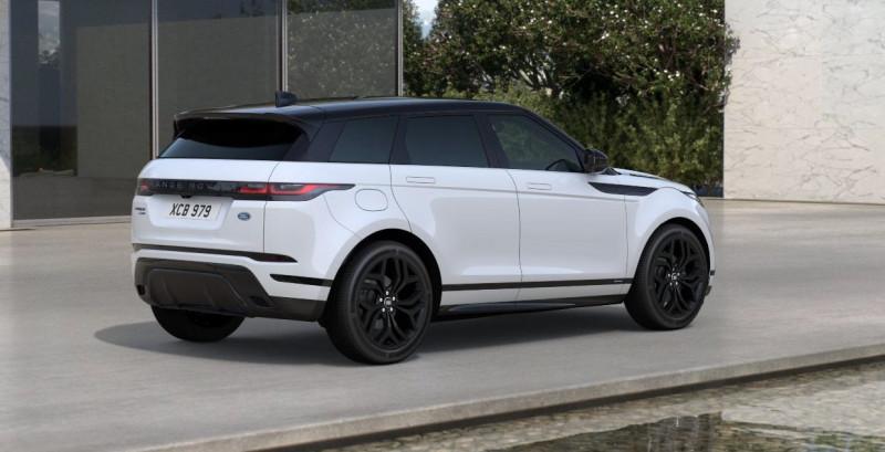 Land rover Range Rover Evoque 2.0 D 180ch R-Dynamic SE AWD BVA Blanc occasion à SAINT ETIENNE - photo n°3