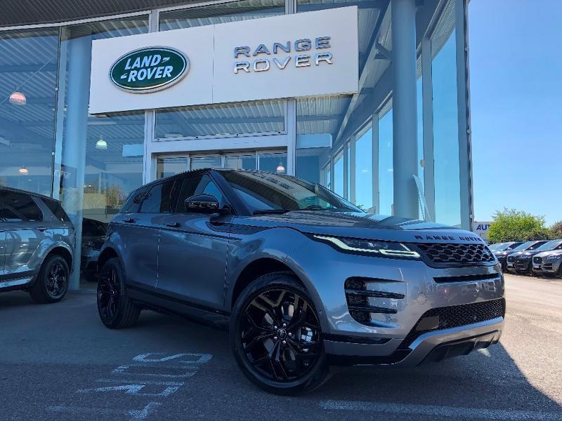 Land rover Range Rover Evoque 2.0 D 180ch R-Dynamic SE AWD BVA Gris occasion à Barberey-Saint-Sulpice
