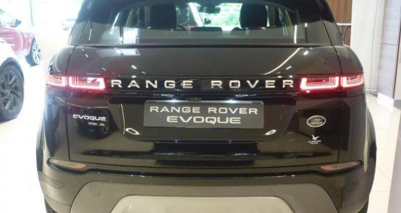 Land rover Range Rover Evoque 2.0 D 180ch SE AWD BVA Noir occasion à Laxou - photo n°6