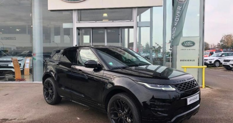 Land rover Range Rover Evoque 2.0 P 200ch R-Dynamic SE AWD BVA Noir occasion à BARBEREY SAINT SULPICE